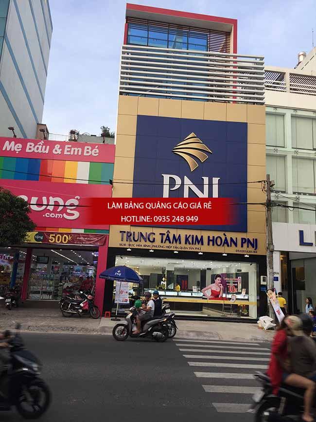 lam bang hieu alu vang bac - Làm bảng hiệu quảng cáo giá rẻ tại TP HCM
