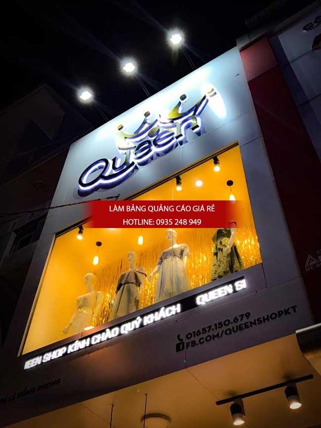 lam bang hieu cua hang shop thoi trang - Làm bảng hiệu quảng cáo giá rẻ tại TP HCM