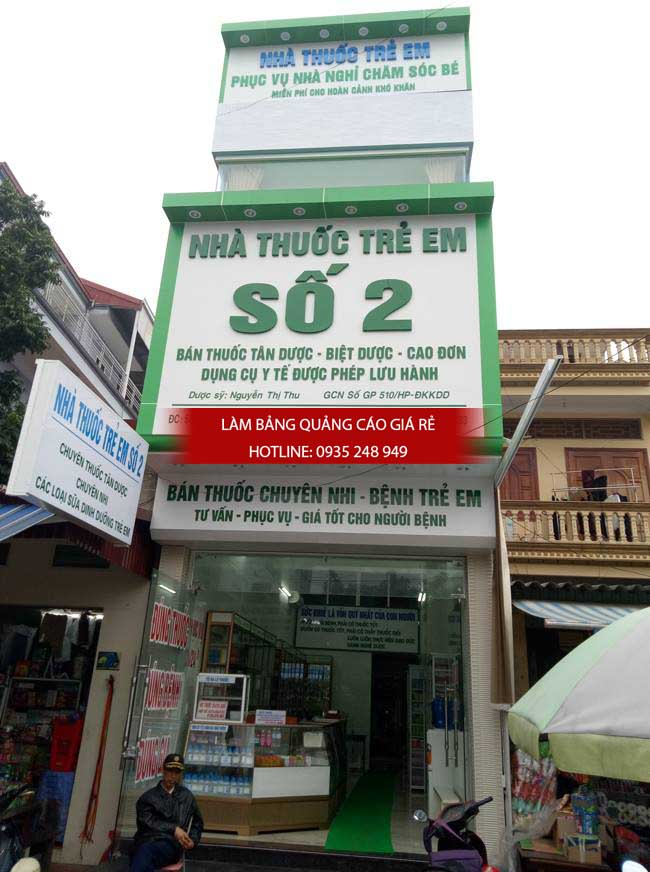lam bang hieu nha thuoc - Làm bảng hiệu quảng cáo giá rẻ tại TP HCM