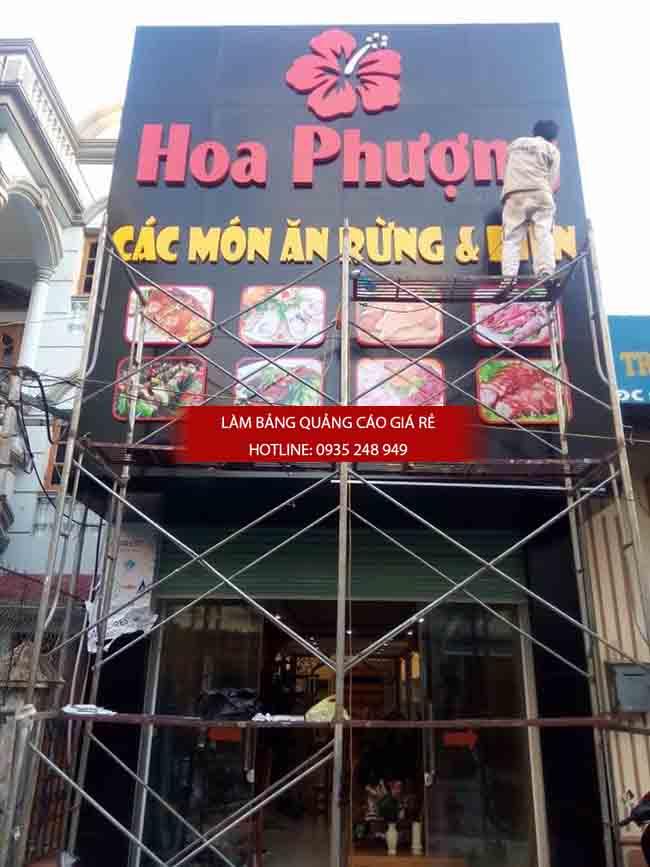 lam bang hieu quan an - Làm bảng hiệu quảng cáo giá rẻ tại TP HCM