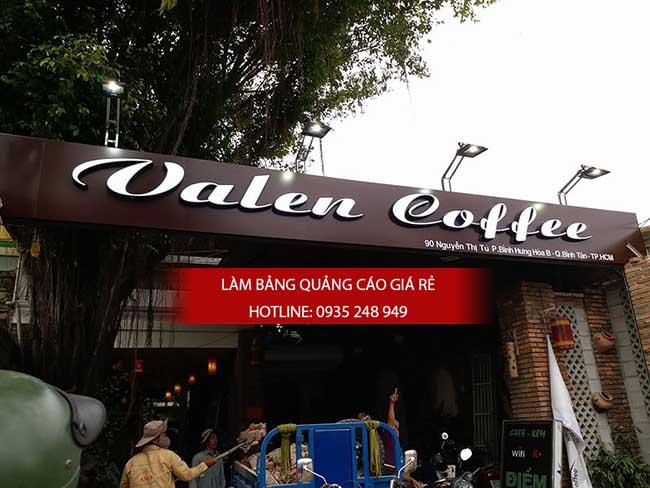 lam bang hieu quan cafe - Làm bảng hiệu quảng cáo giá rẻ TP HCM