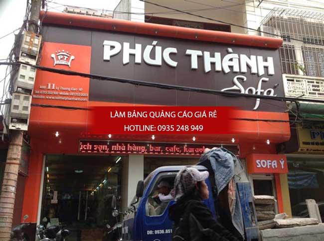 thi cong bang hieu alu - Làm bảng hiệu quảng cáo giá rẻ tại TP HCM
