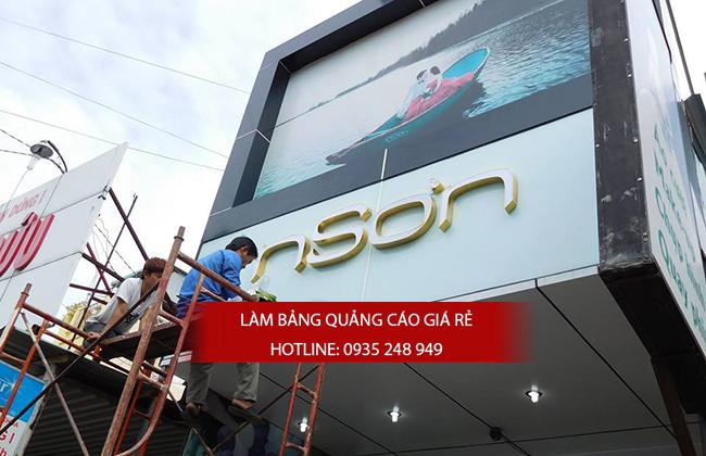 thi cong bang hieu ao cuoi - Làm bảng hiệu quảng cáo uy tín tại Quận 2