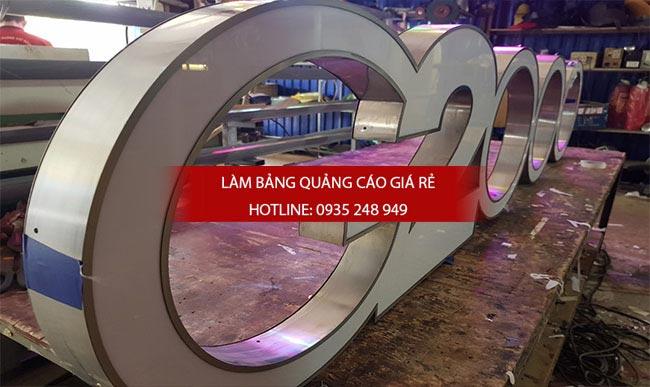 chu noi inox 5 - Làm chữ inox giá rẻ quận Tân Bình