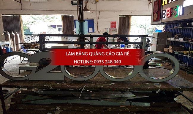 chu noi inox 6 - Làm chữ inox giá rẻ quận Tân Bình