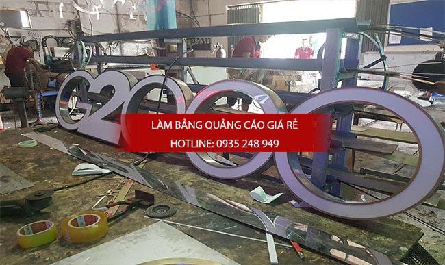 chu noi inox 7 - Làm chữ inox giá rẻ quận Tân Bình