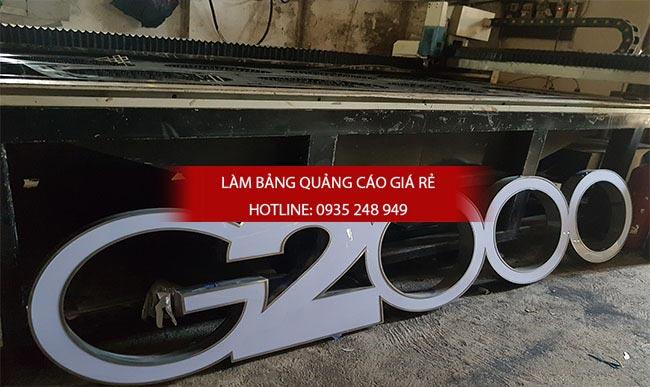chu noi inox 9 - Làm chữ inox giá rẻ quận Tân Bình