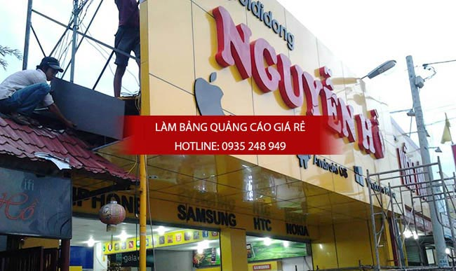 lam bang hieu alu chu noi 1 1 - Bảng hiệu alu giá rẻ tại quận 10 TPHCM