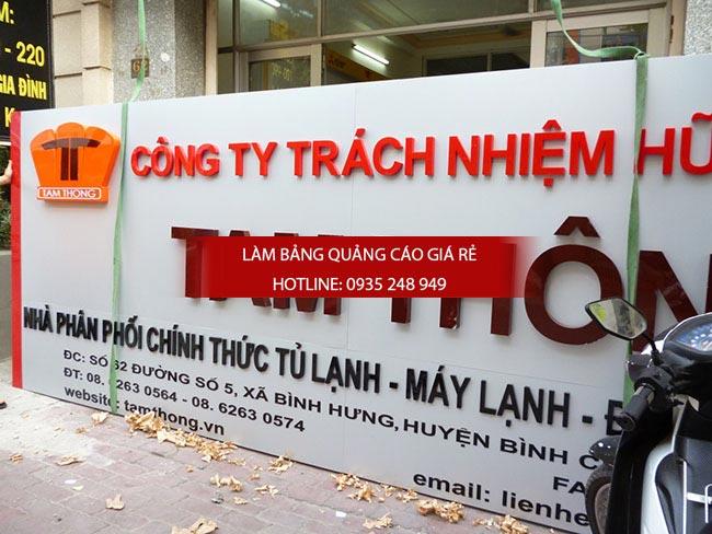 lam bang hieu alu chu noi 3 1 - Bảng hiệu alu giá rẻ tại quận 10 TPHCM