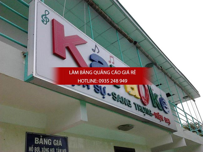 lam bang hieu alu chu noi 4 1 - Bảng hiệu alu giá rẻ tại quận 10 TPHCM