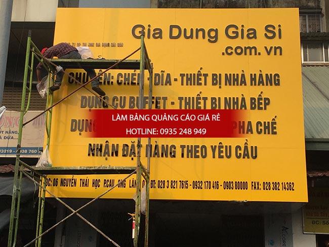 lam bang hieu alu gia re tphcm 2 - Bảng hiệu alu giá rẻ tại quận 10 TPHCM