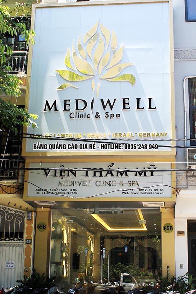 mau bang hieu spa dep 1 - Làm bảng hiệu quảng cáo quận Bình Tân TPHCM