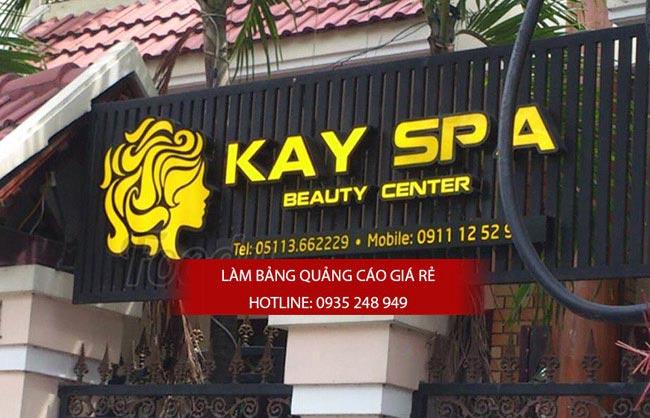 mau bang hieu spa dep 11 - Làm bảng hiệu spa - mẫu bảng hiệu spa đẹp TPHCM