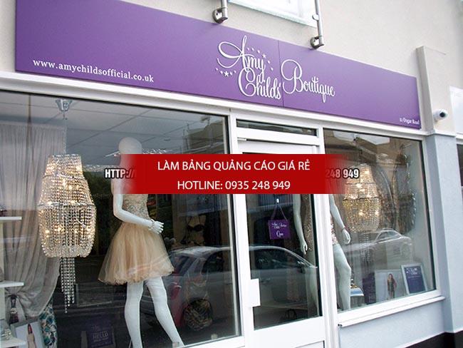 10 mau bang hieu ao quan thoi trang dep 12 - 10 mẫu bảng hiệu thời trang đẹp quận Tân Phú