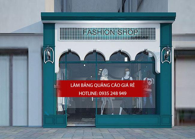 10 mau bang hieu ao quan thoi trang dep 13 - 10 mẫu bảng hiệu thời trang đẹp quận Tân Phú