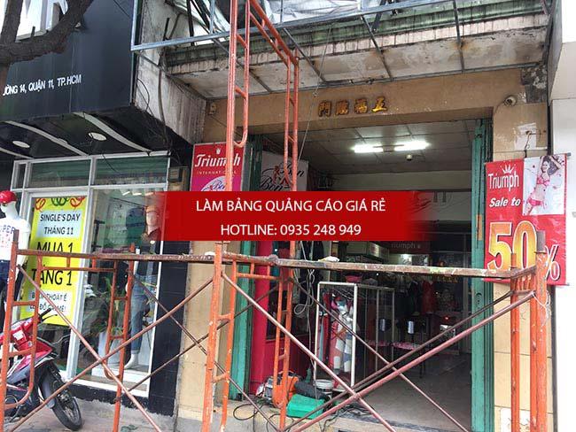 lam bang hieu quang cao tai quan 3 4 - Làm bảng quảng cáo tại quận 3, TPHCM