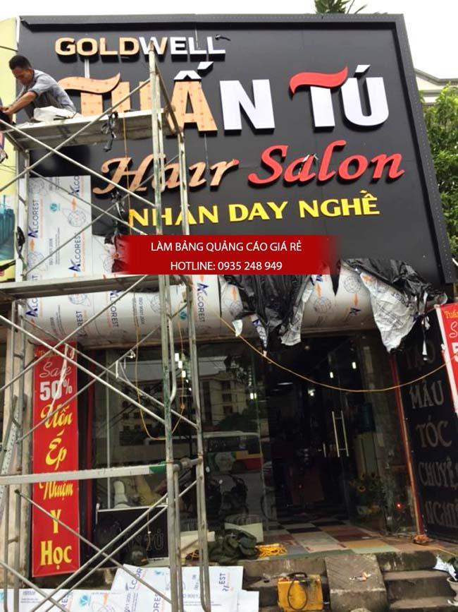 mẫu bảng hiệu salon toc đẹp quận tân phú