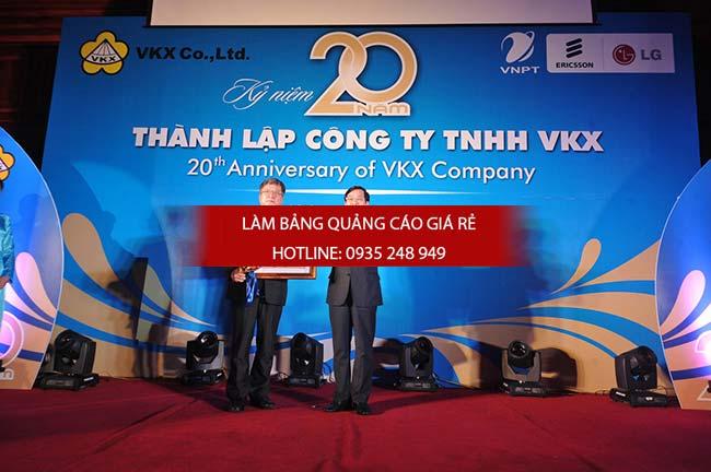 thi cong backdrop chuyen nghiep 2 - Thi công backdrop sân khấu giá rẻ tại quận Tân Bình