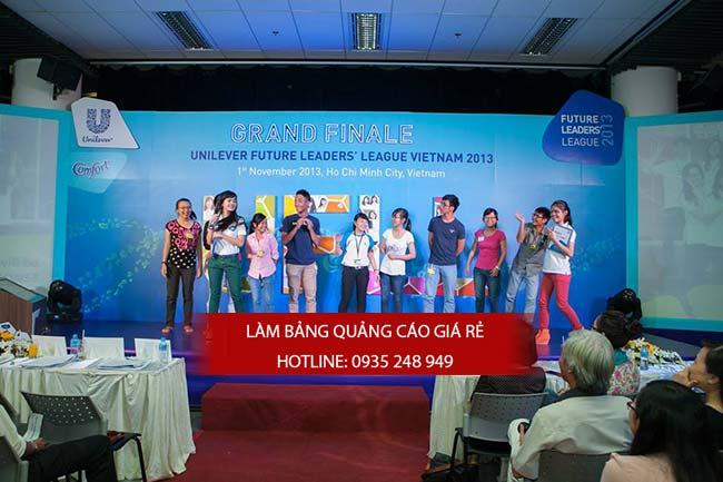thi cong backdrop chuyen nghiep 4 - Thi công backdrop sân khấu giá rẻ tại quận Tân Bình