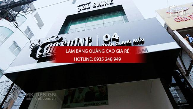 hair salon 30shine 10 - Làm bảng hiệu quận Bình Tân