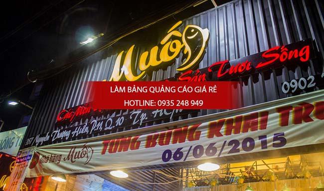 lam bang hieu alu nha hang 9 - Làm bảng hiệu quận 10 giá rẻ