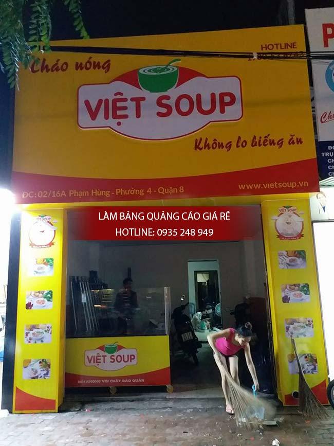 lam bang hieu chao dinh duong 12 - Làm bảng hiệu quận Bình Tân
