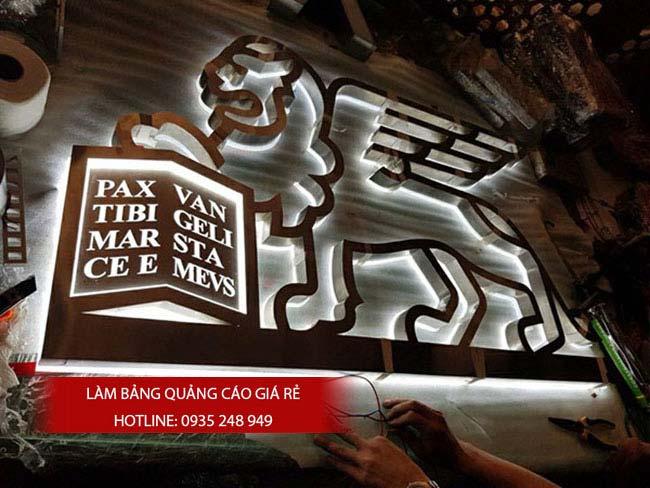lam bang hieu chu inox 51 - Làm bảng hiệu chữ inox