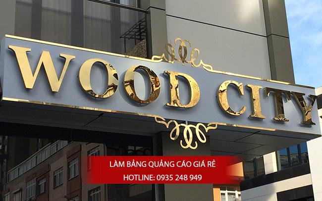 lam bang hieu chu inox 68 - Làm bảng hiệu chữ inox