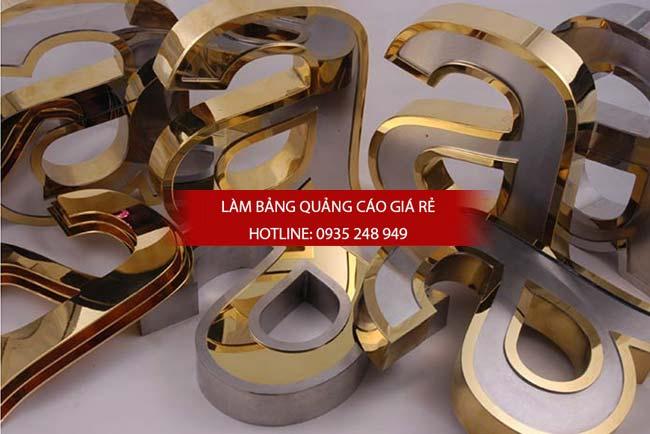 lam bang hieu chu inox 71 - Làm bảng hiệu chữ inox
