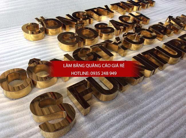 lam bang hieu chu inox 72 - Làm bảng hiệu chữ inox