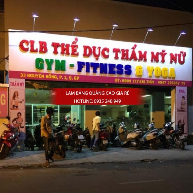 lam bang hieu phong tap gym 12 - Làm bảng hiệu phòng tập gym