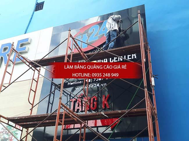 lam bang hieu phong tap gym 8 - Làm Bảng Hiệu Quảng cáo Tại Quận Tân Phú