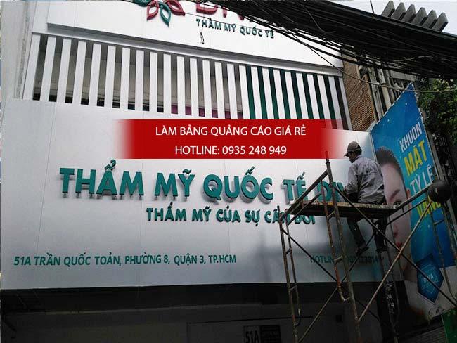 lam bang hieu quan 8 5 - Làm bảng hiệu quận Bình Tân
