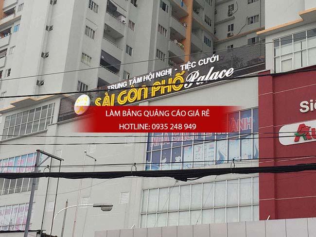lam bang hieu quan Go Vap 10 - Làm bảng hiệu quảng cáo đường Vành Đai Trong quận Bình Tân