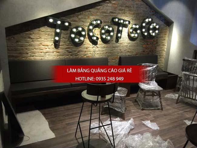 lam bang hieu quan Go Vap 2 - Làm bảng hiệu quảng cáo giá rẻ chuyên nghiệp tại TPHCM