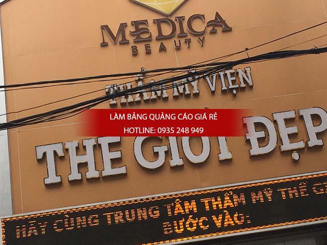 lam bang hieu spa 2 - Làm bảng hiệu quận Bình Tân