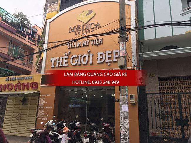 lam bang hieu spa 3 - Làm bảng hiệu quận Bình Tân