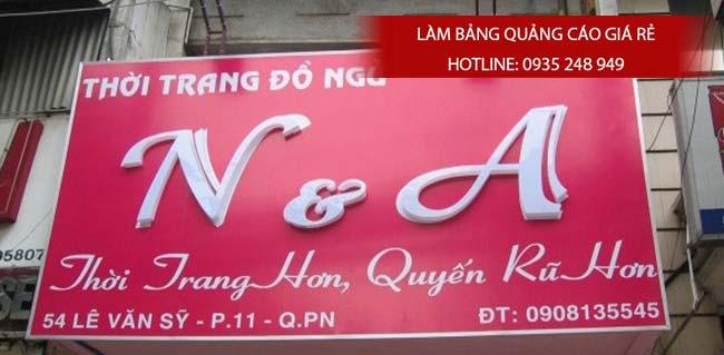 lam bang hieu thoi trang 4 - Làm bảng hiệu thời trang