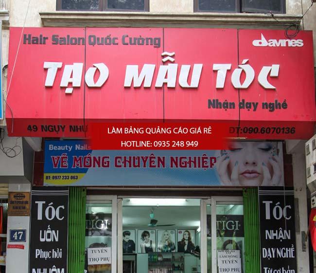 lam bang hieu tiem toc 10 - Làm bảng hiệu quảng cáo quận Bình Tân TPHCM