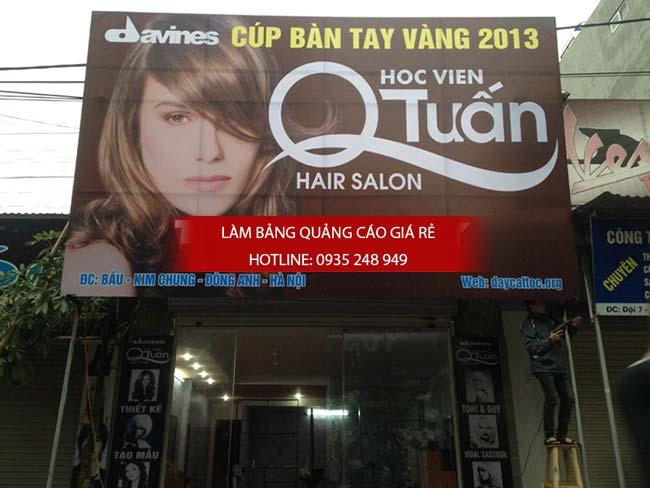 lam bang hieu tiem toc 11 - Làm bảng hiệu quảng cáo quận Bình Tân TPHCM