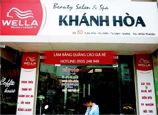 lam bang hieu tiem toc 15 - Làm bảng hiệu salon tóc đẹp tại quận 10