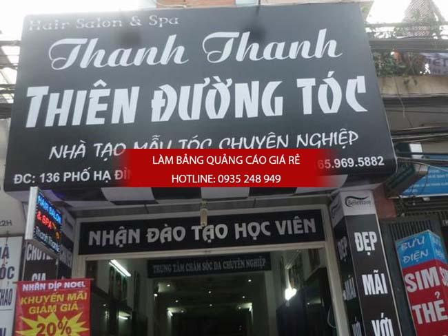 lam bang hieu tiem toc 2 - Làm bảng hiệu salon tóc đẹp tại quận 10