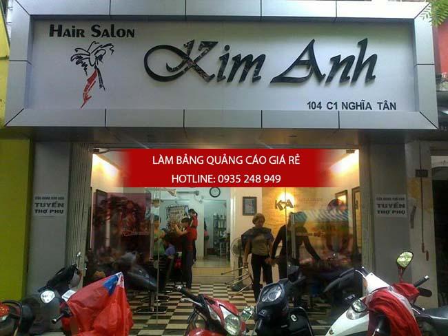 lam bang hieu tiem toc 3 - Làm bảng hiệu quảng cáo quận Bình Tân TPHCM