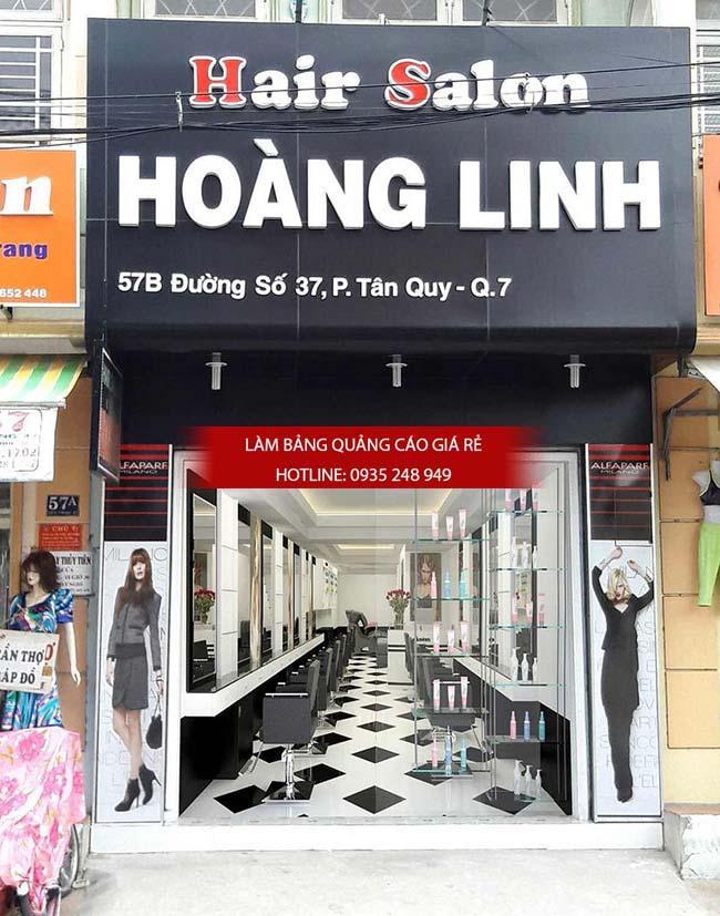 lam bang hieu tiem toc 4 - Làm bảng hiệu salon tóc đẹp tại quận 10