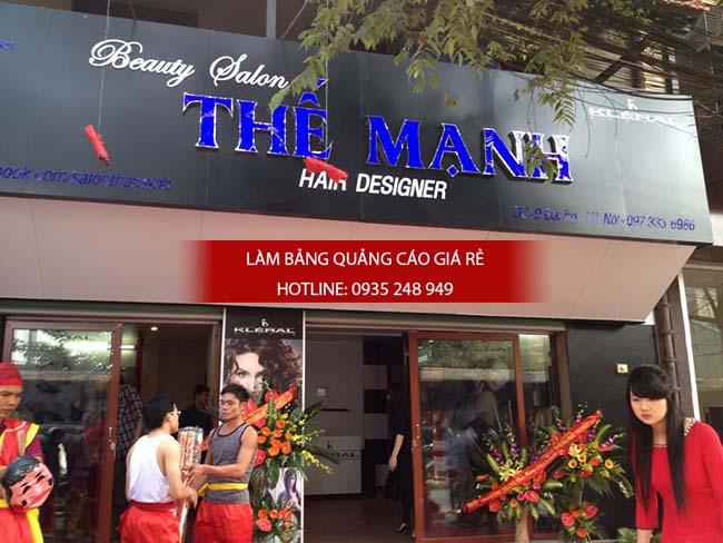 lam bang hieu tiem toc 5 - Làm bảng hiệu quảng cáo đường Vành Đai Trong quận Bình Tân
