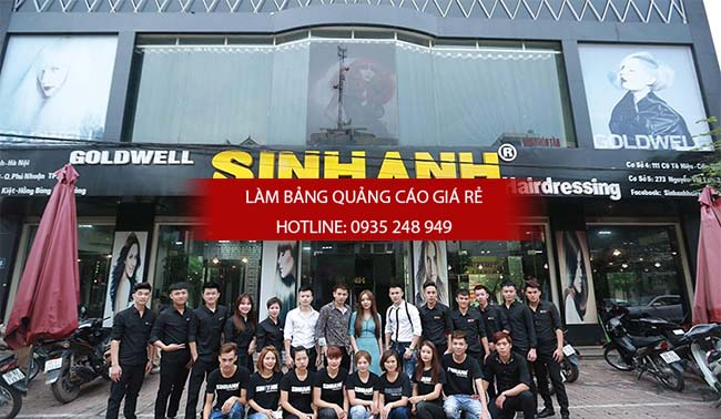 lam bang hieu tiem toc 7 - Làm bảng hiệu salon tóc đẹp tại quận 10