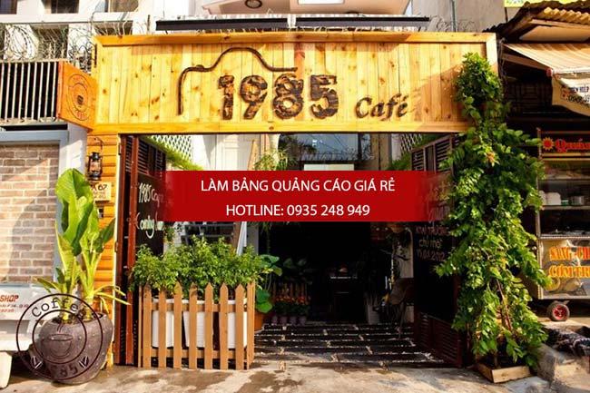 mau bang hieu cafe dep 3 - Những mẫu bảng hiệu cafe đẹp