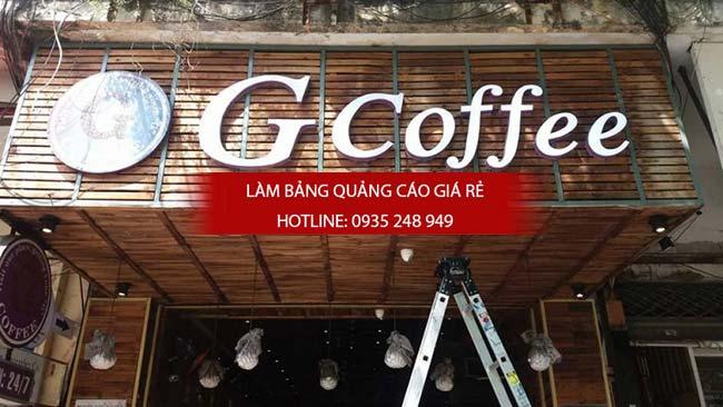 mau bang hieu cafe dep 4 - Những mẫu bảng hiệu cafe đẹp