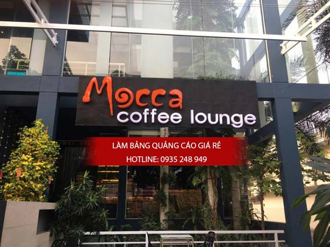mau bang hieu cafe dep 5 - Những mẫu bảng hiệu cafe đẹp