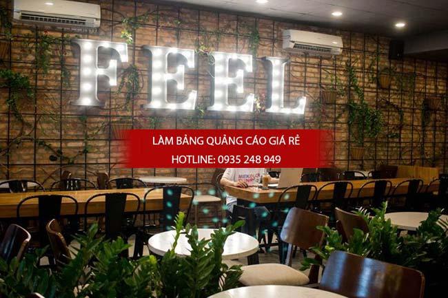 mau bang hieu cafe dep 7 - Những mẫu bảng hiệu cafe đẹp